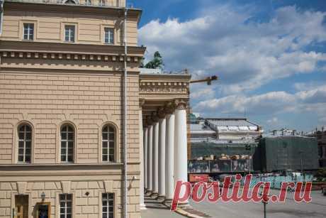 Большой театр - фонтан и здания: matilda_i_ja(BETA)