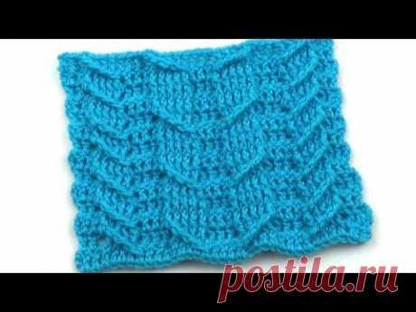 Принцип вязания крючком неравномерных кос   The principle of crocheting uneven braids