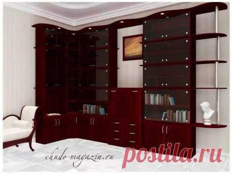 Угловой стеклянный шкаф для посуды в гостиную в Москве: идеи, фото, заказ, замер