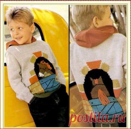 >детский пуловер