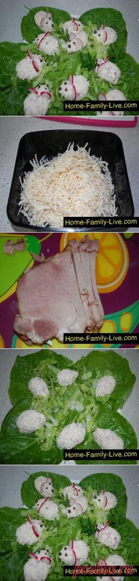 Мышки из сыра и бекона - Кулинарные рецепты