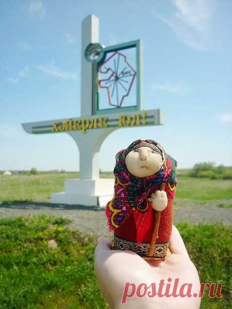 Башкирская бабулька-сувенир – купить в интернет-магазине на Ярмарке Мастеров с доставкой - 2AM6ZRU | Магнитогорск