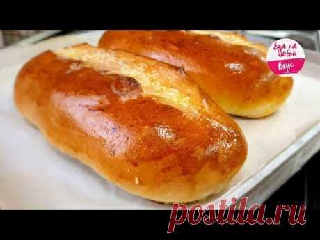 Мякиш Этого Батона словно ТАЕТ во рту! Идеально быстрый рецепт Хлеба (#Карантин не страшен)