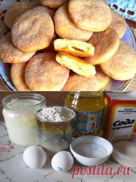 """Бабушкино печенье """"Из банки"""" на растительном масле со сливочным вкусом (загадка!!!)"""