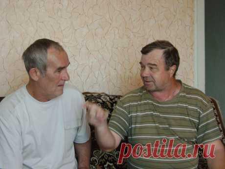 Встреча школьных друзей - Паньков и Кулагин, 2012 год.