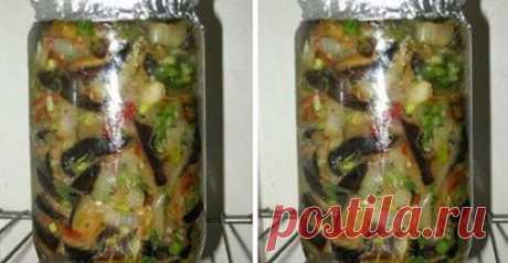 Оригинальный салат из баклажанов с секретиком. Вкусно до безумия
