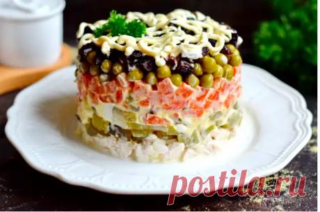 «Прага» – классический салат эпохи СССР (по-моему, он вкуснее «Оливье»)