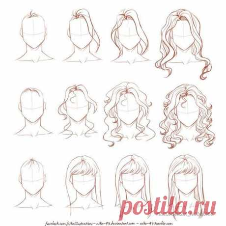 Появилось новое сообщество, которое быстро научит вас рисовать!  Урок рисования волос: