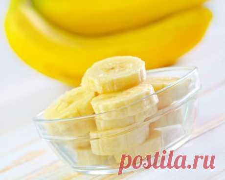 Подтягивающая маска из банана | Делимся советами