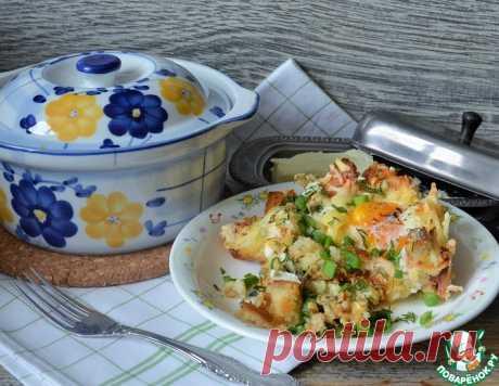 Яйца по-украински – кулинарный рецепт