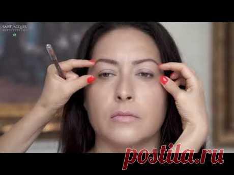 Секреты макияжа.Как скорректировать круглую или грушевидную форму лица. Рекомендации  Жанны Сан-Жак