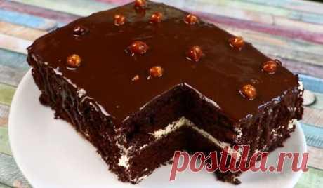 Новогодний шоколадный торт с волшебным, оригинальным вкусом   Вкусные домашние рецепты   Яндекс Дзен