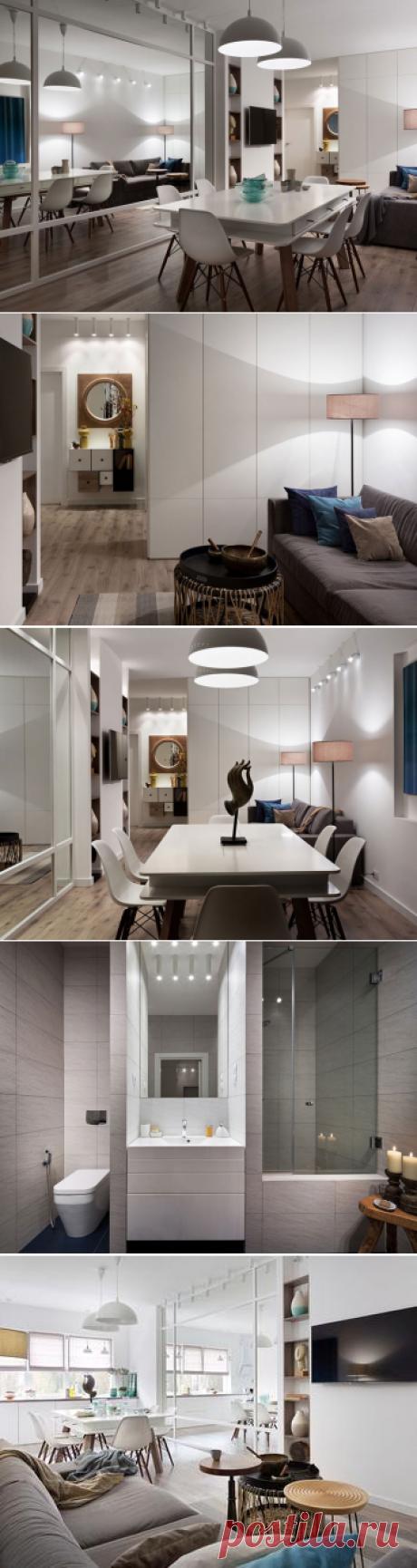 Квартира в скандинавском стиле для семьи в Киеве
