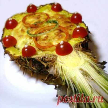 Свинина в ананасе - Мясные блюда