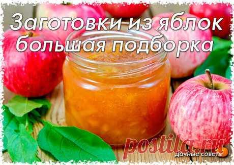 Заготовки из яблок - 26 рецептов! #кулинария