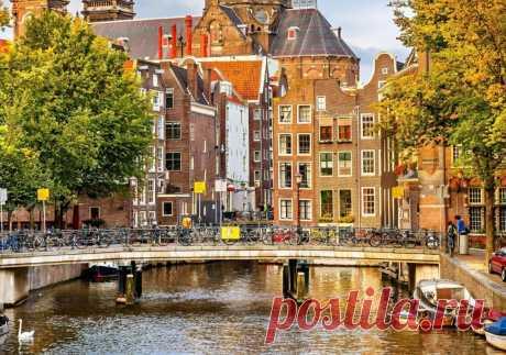 Амстердам — удивительный и разный город | KLIPUS.RU//Путешествия по миру | Яндекс Дзен