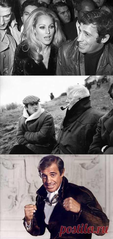 Жан Поль Бельмондо. | Искусство