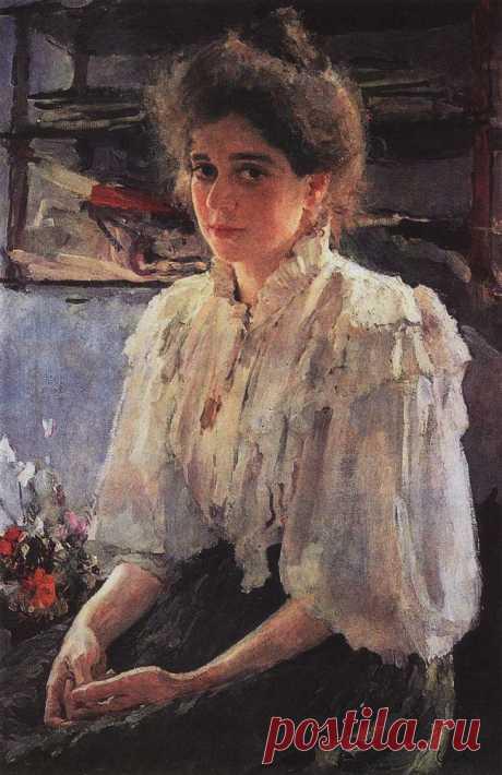 Портрет М.Я.Львовой. 1895  /  Валентин Александрович Серов (1865-1911). Часть 2 : vakin