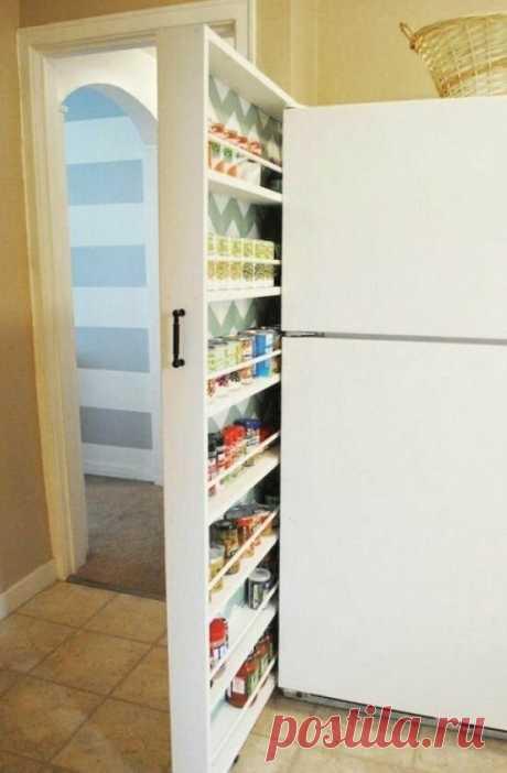 14 классных идей для экономии пространства в небольшой квартире / Всё самое лучшее из интернета