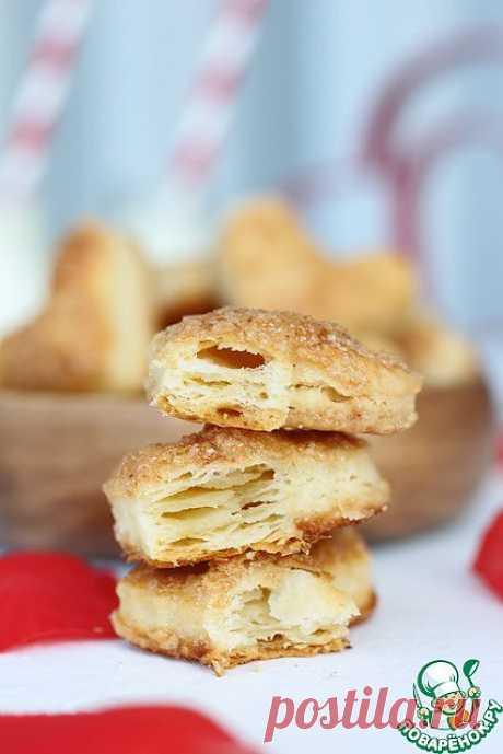 Сливочное сырное, карамельное печенье. Автор: Kipariss