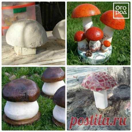 10 оригинальных идей садовых скульптур из бетона и гипса | Малая архитектура (Огород.ru)