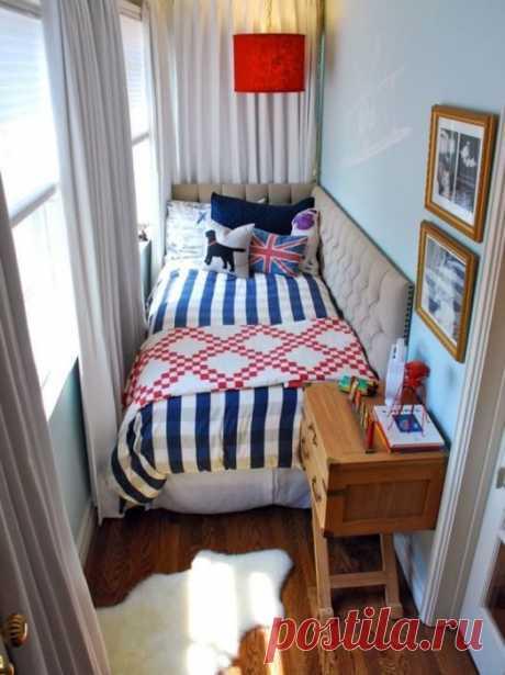 Идеи, как создать уютный домашний интерьер для балкона / Я - суперпупер
