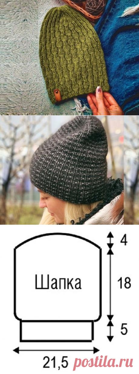 3 простых варианта связать модные шапки бини | Идеи рукоделия | Яндекс Дзен
