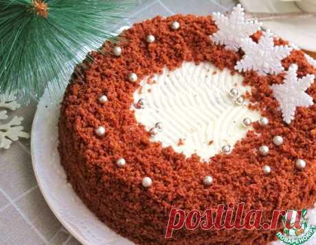 Шоколадный торт со сливочным кремом – кулинарный рецепт