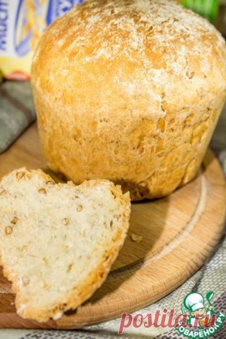 Овсяный хлеб с гречкой - кулинарный рецепт