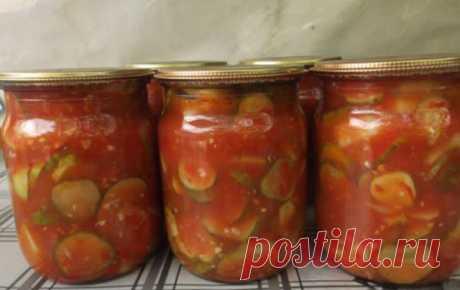 Огурцы в томате на зиму — обалденный рецепт! | NashaKuhnia.Ru