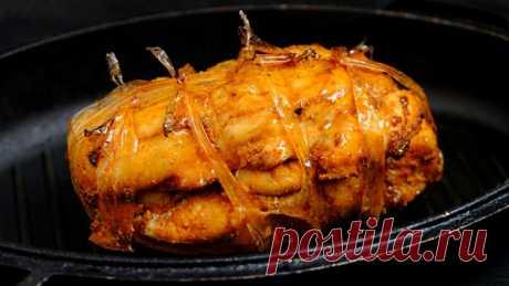 Вместо колбасы на бутерброды! Очень вкусная холодная закуска из куриного филе — Кулинарная книга