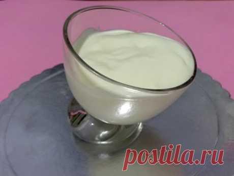 Yogurt cream for cake. Very gentle cream for cake!!!
