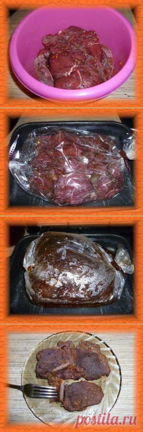 Говядина в духовке в пакете для запекания | Снедание