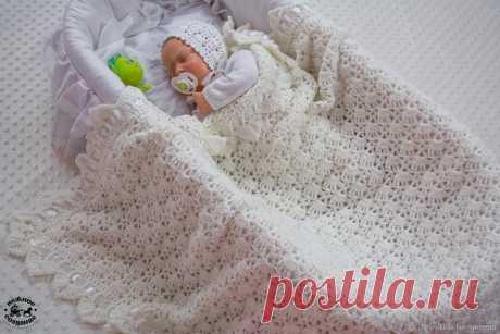 Пледы для новорожденных крючком, 15 схем | календарь уютного дома | Яндекс Дзен