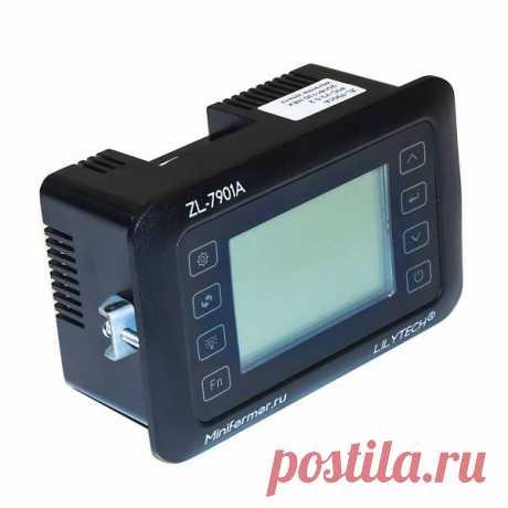 Терморегулятор LILYTECH ZL-7901A (темп + влажность + 3 таймера) в Москве