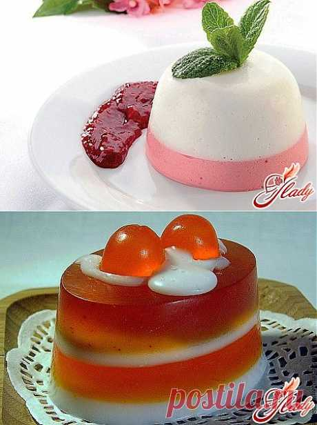 How to make jelly: a dessert which will not spoil your figure
