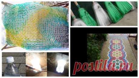 Пприменение пластиковых бутылок на даче (Часть 2)
