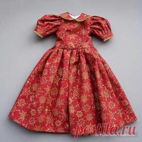 Выкройка платья для куклы Kaye Wiggs, MSD / Мастер-классы, творческая мастерская: уроки, схемы, выкройки для кукол / Бэйбики. Куклы фото. Одежда для кукол