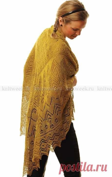 """""""Болотный кипарис&quot shawl;"""