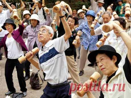 Геронтологи раскрыли секрет долгожительства японцев - МК