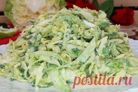 Салат из капусты (с необычной заправкой вместо майонеза) – пошаговый рецепт с фотографиями