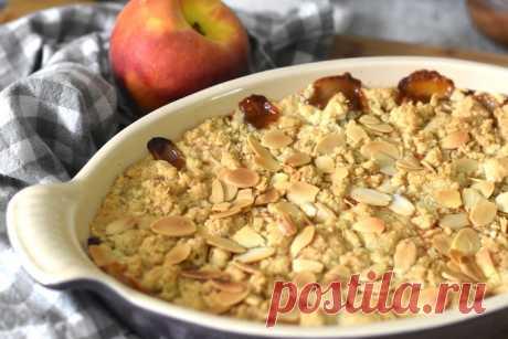 Персиковый крисп - Cooking Palette