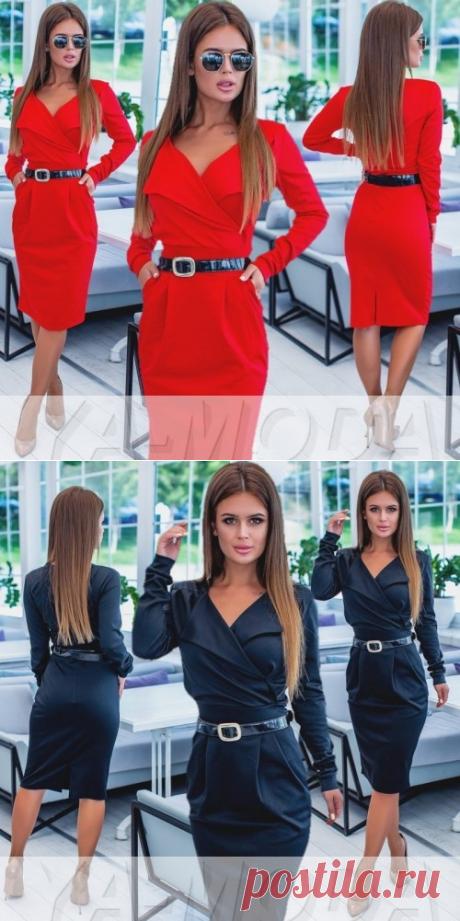 ❖Офисное платье для женщин купить недорого