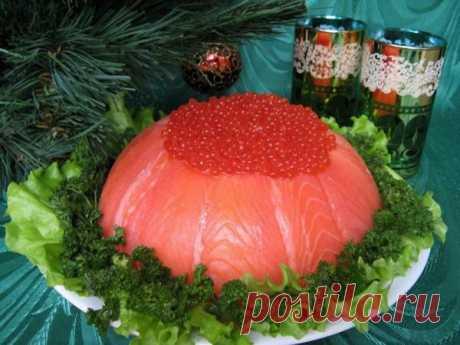 Рыбный торт рецепт слоеного салата праздничный с фото