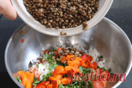 Марокканская кухня: постный салат с чечевицей // вегетарианские рецепты | Вкусные кулинарные рецепты Марокканская кухня: постный салат с чечевицей // вегетарианские рецепты | Самые вкусные кулинарные рецепты | Новые рецепты с фото и видео на «Kulinarow.ru»