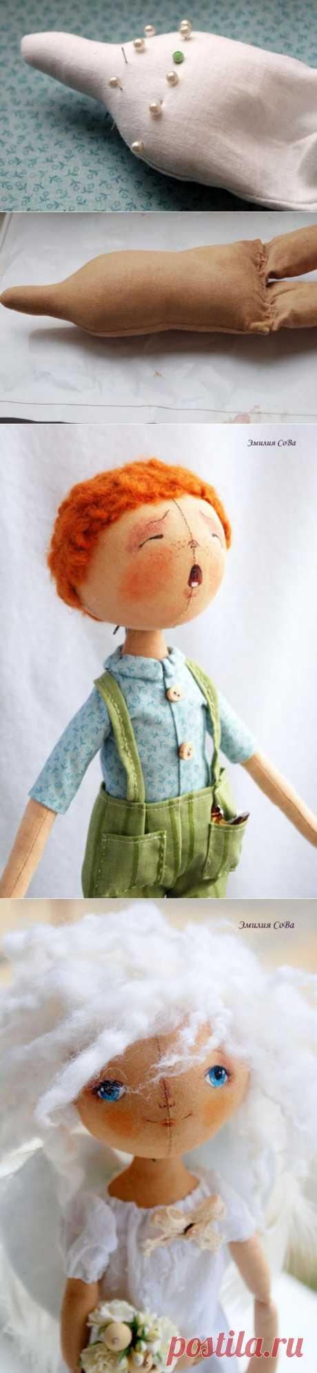 Раскрываю секреты шитья кукол