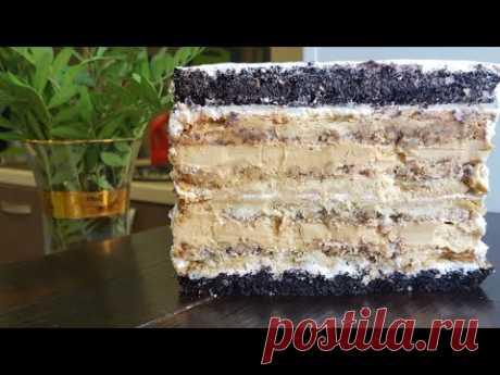 """Восхитительный торт """"КРЕЩАТЫЙ ЯР""""❤ПРОСТОЙ ПОШАГОВЫЙ РЕЦЕПТ ❤Kreshchatyi Yar cake recipe"""