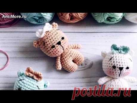Амигуруми: схема Мишки малышки. Игрушки вязаные крючком - Free crochet patterns.