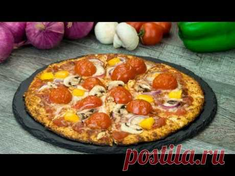 Удивительно вкусный рецепт вегетарианской пиццы с коржом из цветной капусты! | Appetitno.TV