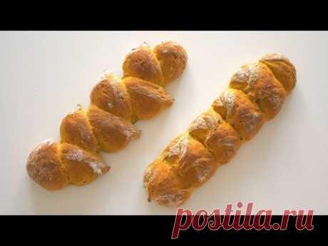 Хлеб с тыквой - яркий, вкусный, простой